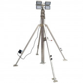 Осветительная мачта с ручной лебедкой СПС-Р 5,5 м LED 4x100