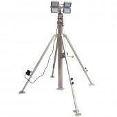 Осветительная мачта с ручной лебедкой СПС-Р 7,5 м ГАЛ 4х500